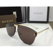 gucci眼鏡專賣店 2018年新款 0354不規則鏡框時尚墨鏡