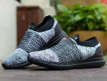 adidas Ultra Boost Laceless 2018新款 無鞋帶針織情侶襪子慢跑鞋 灰黑色