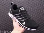 Adidas Shoes 潮鞋系列 2019新款透氣飛線網面 男生休閒跑步鞋