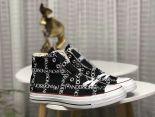 Converse x JW Anderson chuck 70 grid 2018新款 聯名JWA字樣笑臉情侶款帆布鞋
