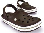 crocs特賣會2014 Crocband卡駱班情侶款洞洞鞋 咖啡色休閒鞋 沙灘鞋