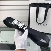 gucci皮帶 古馳2018新款 HF10牛皮平紋剛扣時尚腰帶