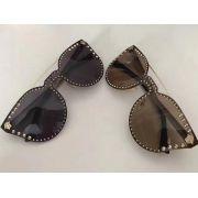versace太陽眼鏡 凡賽斯2017年6月新款眼鏡 2161奢華水鑽太陽眼鏡