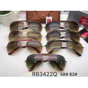 ray ban太陽眼鏡 雷朋2017年4月新款墨鏡 RB3422休閒款時尚太陽眼鏡