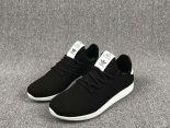pharrell williams x adidas tennis hu 菲董聯名款 小椰子編織透氣時尚情侶鞋 黑色