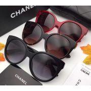 chanel眼鏡 香奈兒2017新款墨鏡 香奈兒5567百搭款時尚太陽眼鏡