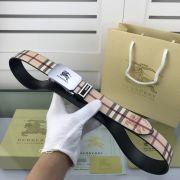 burberry臺灣專賣店 巴寶莉2018新款皮帶 HF52格子自動扣時尚腰帶