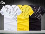 fendi短袖 2019新款 簡約男生休閒圓領短袖T恤 MG206款