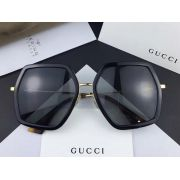gucci眼鏡專賣店 2017年新款 0106不規則六角鏡框時尚墨鏡