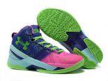 under armour curry籃球鞋 庫裏第二代簽名戰靴 女生時尚跑鞋 玫紅草綠