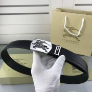burberry臺灣專賣店 巴寶莉2018新款皮帶 HF103牛皮拼接時尚腰帶