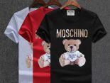 moschino 衣服 2018新款 字母小熊男生休閒圓領短袖T恤 MG