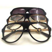 versace台灣官網 凡賽斯2016新款眼鏡 4522中性風經典眼鏡