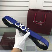 salvatore ferragamo皮帶 菲拉格慕2018新款 HF110牛皮荔枝紋鋼扣時尚腰帶