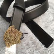versace皮帶 範思哲2018新款 ZJ美杜莎鑲鉆頭像特色腰帶