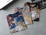 versace長袖 2019新款 花紋頭像男生圓領長袖T恤 MG8805