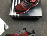 adidas adiZero Prime Boost 2018新款 復仇者聯盟針織男生運動鞋 紅灰