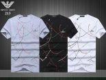 armani短袖 2019新款 簡約男生休閒圓領短袖T恤 MG213款