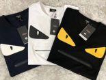 fendi芬迪短T 2019新款 線光棉圓領短袖T恤 MG201905