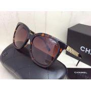 chanel太陽眼鏡 香奈兒2017新款墨鏡 5601時尚飛行款大框太陽眼鏡