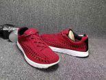 nike mayfly woven 超輕量編織透氣時尚情侶款跑鞋 紅色
