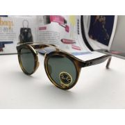 ray ban專櫃 雷朋2017年7月新款眼鏡 4267圓框復古風時尚太陽眼鏡
