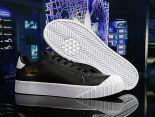 adidas Originals Everyn 2018新款 皮質情侶休閒板鞋 黑白