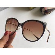 burberry眼鏡 巴寶莉2018新款太陽鏡 3096狐狸眼全框時尚墨鏡