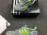 adidas adiZero Prime Boost 2018新款 復仇者聯盟針織男生運動鞋 灰綠