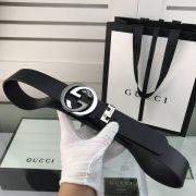 gucci皮帶 古馳2018新款 HF69牛皮鋼扣時尚腰帶