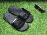 puma popcap swan 蕾哈娜同款沙灘拖鞋 夏季時尚情侶款一字拖 黑色