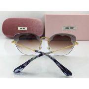 MIUMIU眼鏡 2018年新款太陽鏡 03TS無框雲朵圖案時尚墨鏡