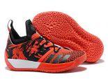 adidas Harden Vol. 2 2018新款 哈登2代網面男生籃球鞋 桔紅黑