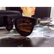 chrome hearts太陽眼鏡 克羅星金屬邊系列墨鏡 T13時尚厚框偏光太陽眼鏡