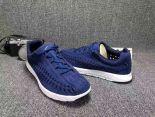 nike mayfly woven 超輕量編織透氣時尚情侶款跑鞋 深藍色