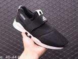 adidas愛迪達 2019新款透氣網面 男生一腳蹬套腳機能厚底老爹鞋