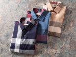 burberry巴寶莉 2018新款 格子男生休閒短袖襯衫 MG