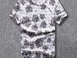 kenzo短t 2018夏季新款 虎頭圓領男生短袖T恤 白色