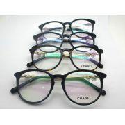 chanel眼鏡 香奈兒2016新款平光眼鏡 3333復古圓框時尚眼鏡