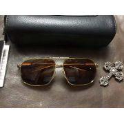chrome hearts眼鏡目錄 克羅星金屬邊系列墨鏡 T14炫酷潮范偏光太陽眼鏡
