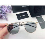 D&G眼鏡 2018新款太陽鏡 DG2196圓框字母裝飾時尚眼鏡