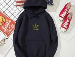 adidas 愛迪達三葉草 2019新款帽T 秋冬季薄款情侶款衛衣 PF